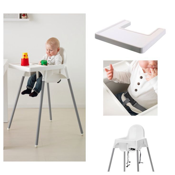 ... Ikea Antilop High Chair with Safety Belt