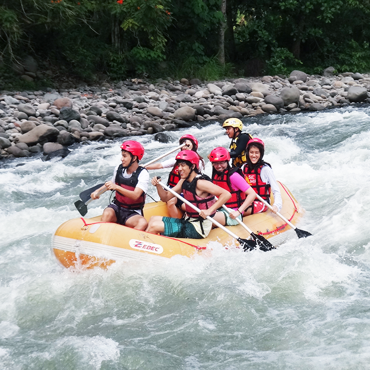 White Water Rafting in Davao River