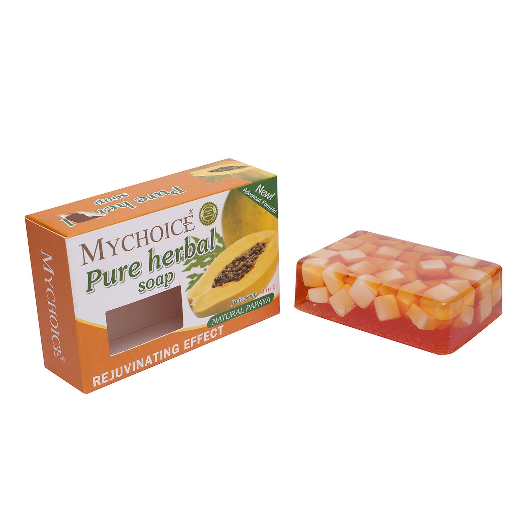 My Choice Herbal Soap Papaya (100g.)