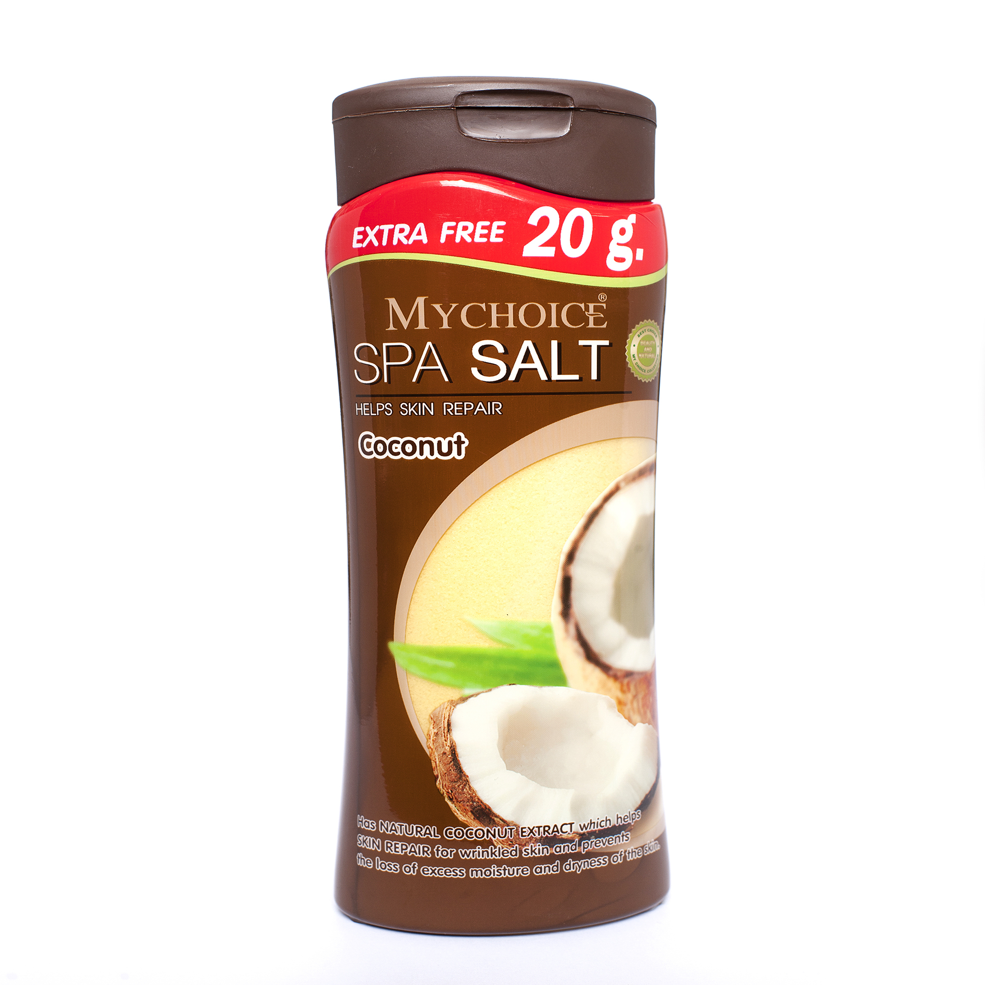 Mychoice Spa Salt Bottle  500g