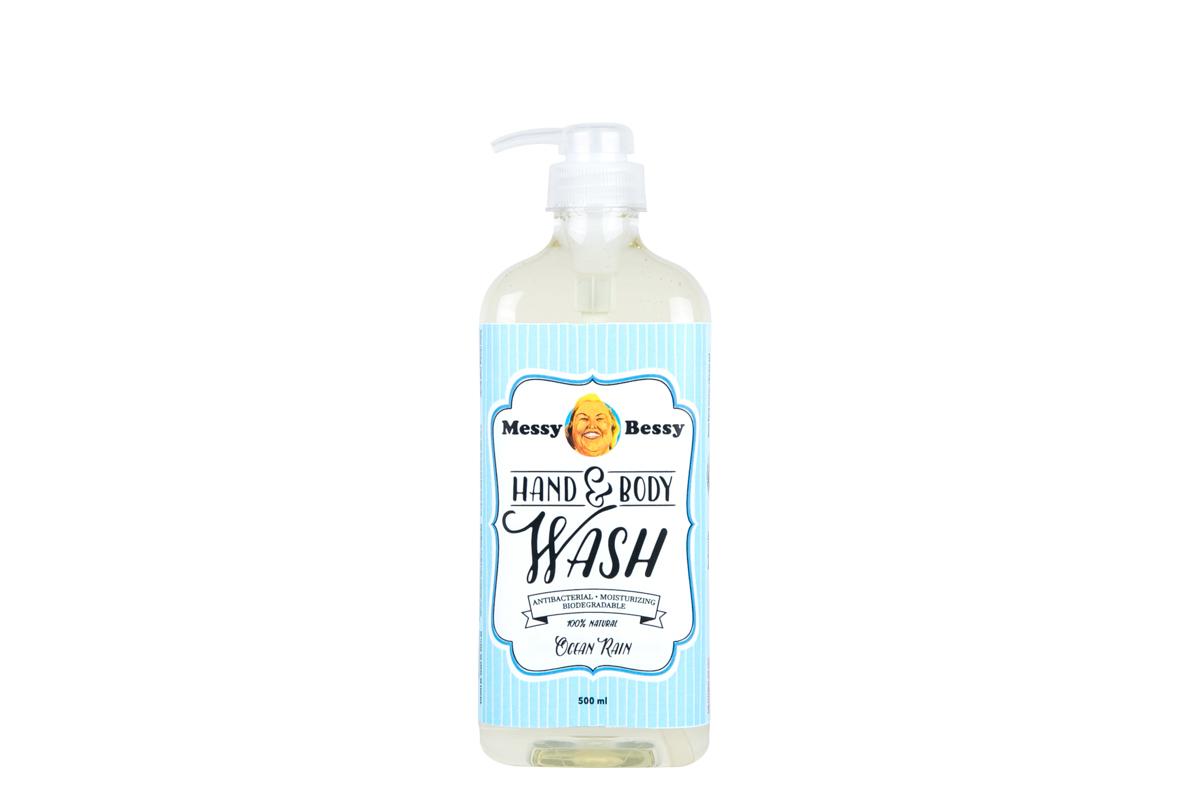 Messy Bessy Hand and Body Wash Ocean Rain 500 ml