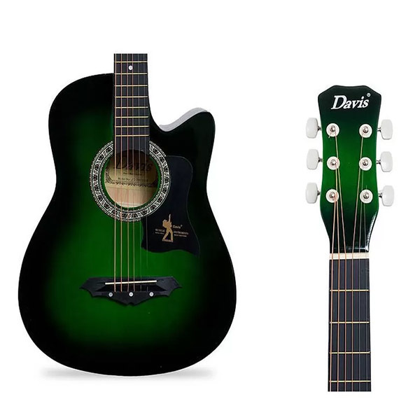 Davis Jg 38 Acoustic Guitar Green For Sale Online At Takatack