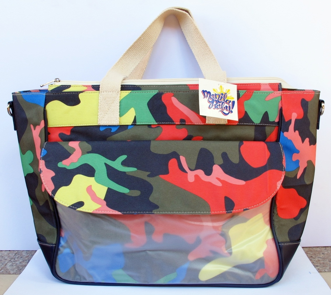 LifeSavers Diaper Bag (Colored Camo)