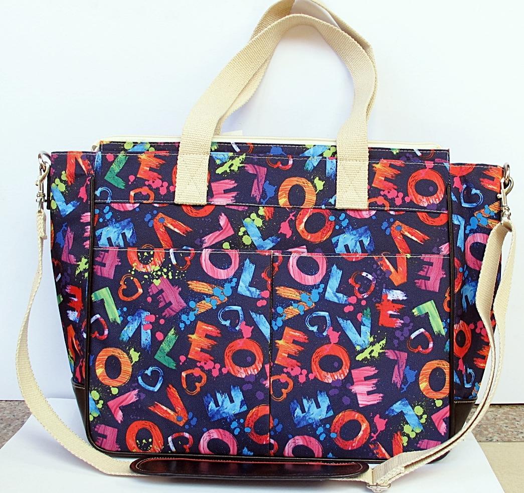 LifeSavers Diaper Bag (LOVE Print)