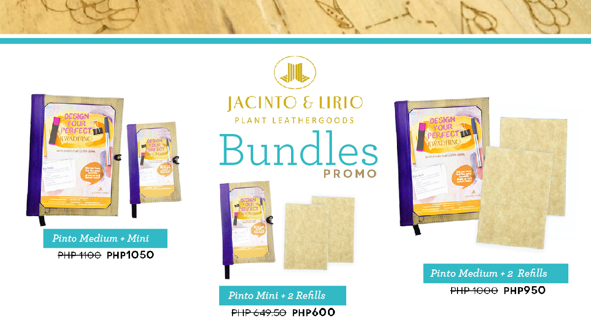 Pinto Medium and 2 Medium Refills Bundle