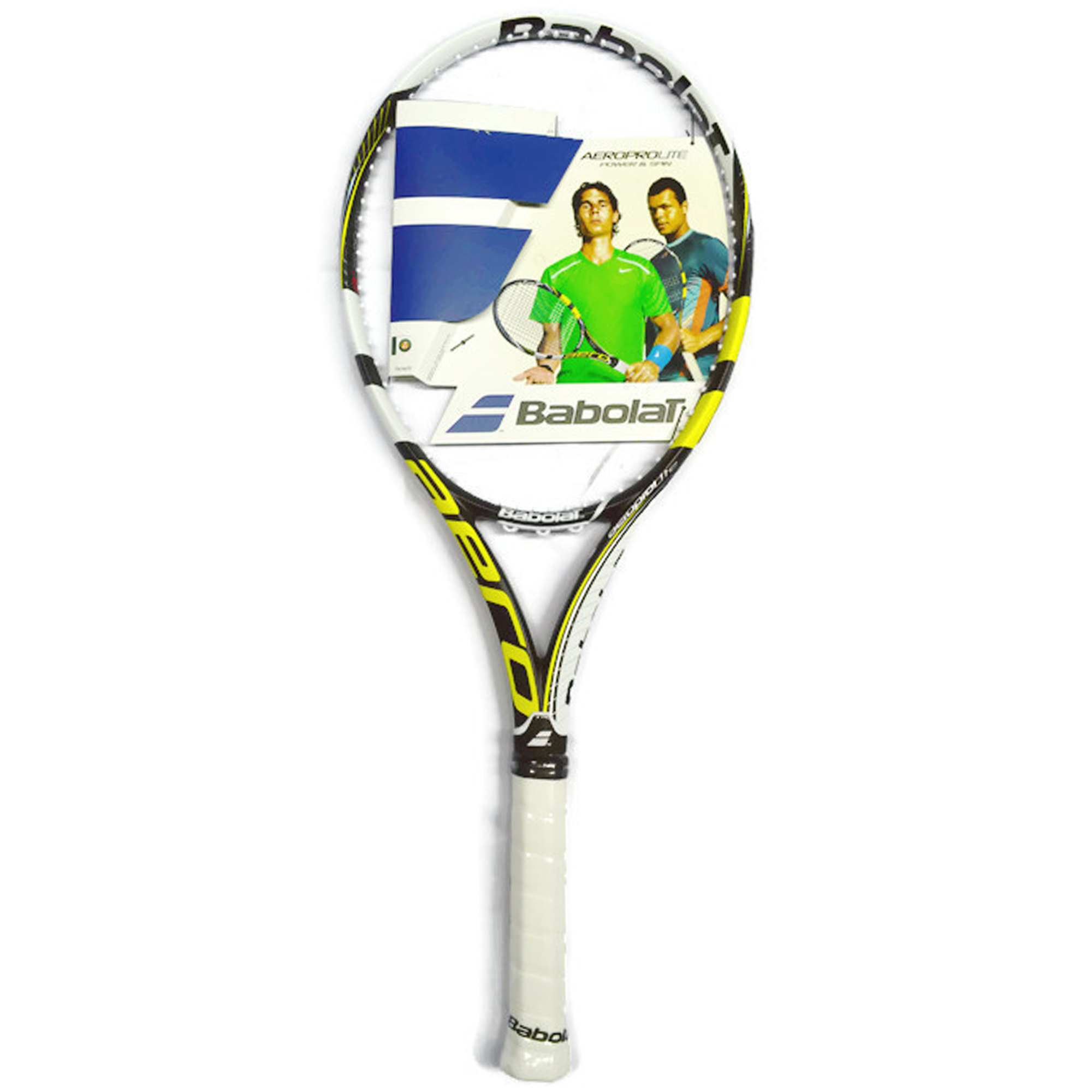 babolat aero pro lite gt tennis racket black and yellow. Black Bedroom Furniture Sets. Home Design Ideas