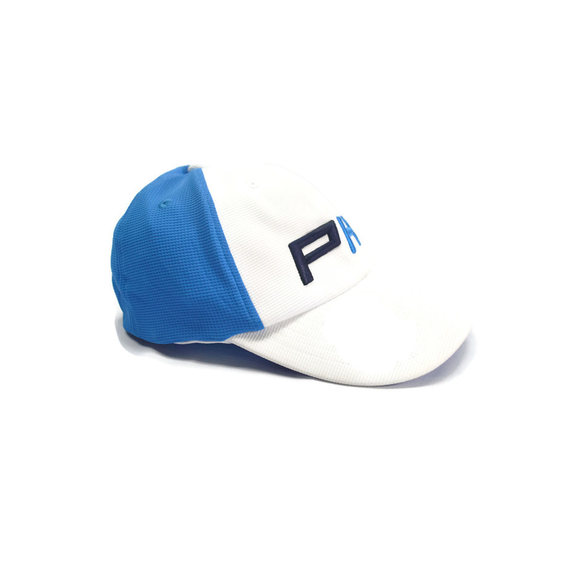 Pin High Oliver B Golf Cap (White-French Blue)