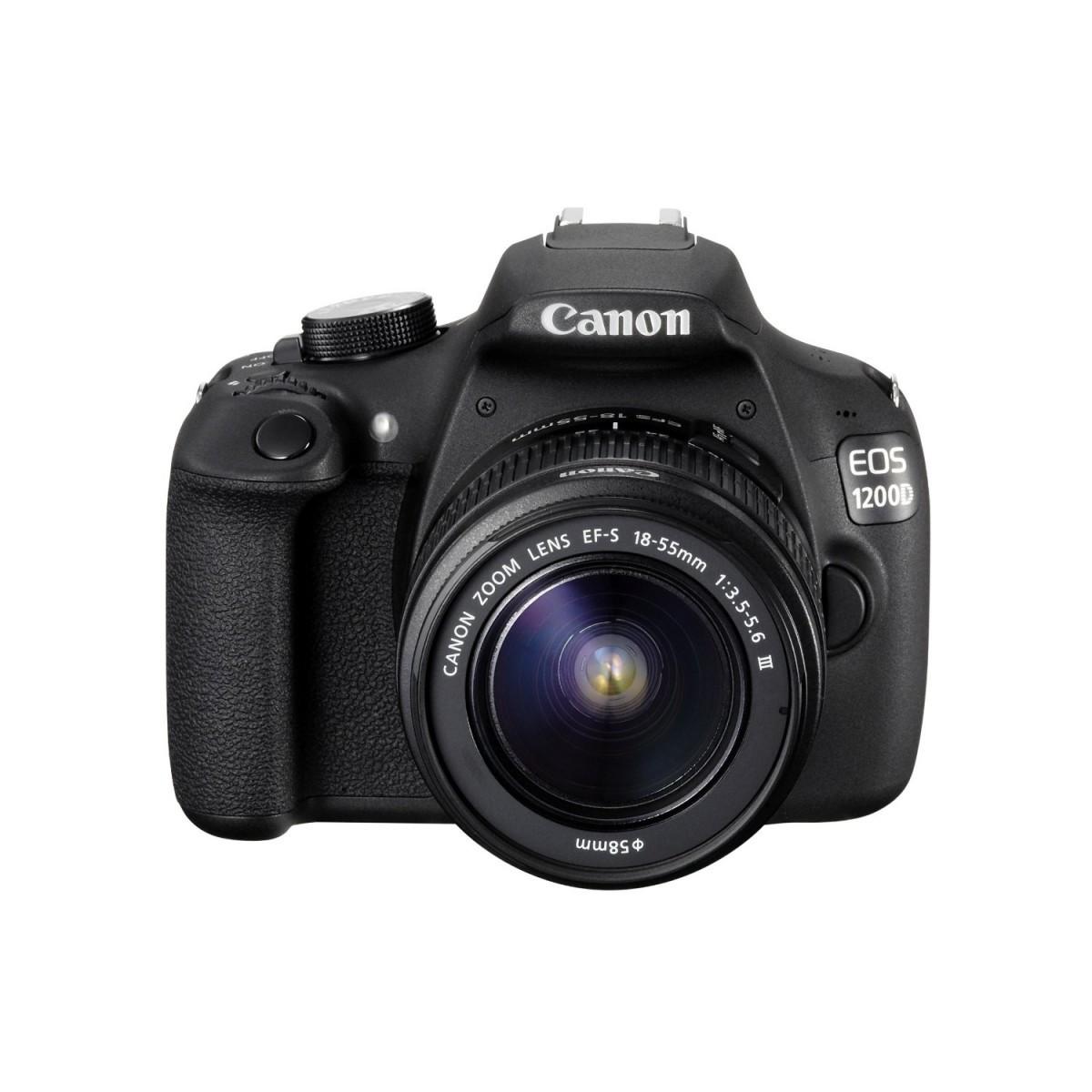 Canon EOS 1200D Kit (18-55mm III) BLACK