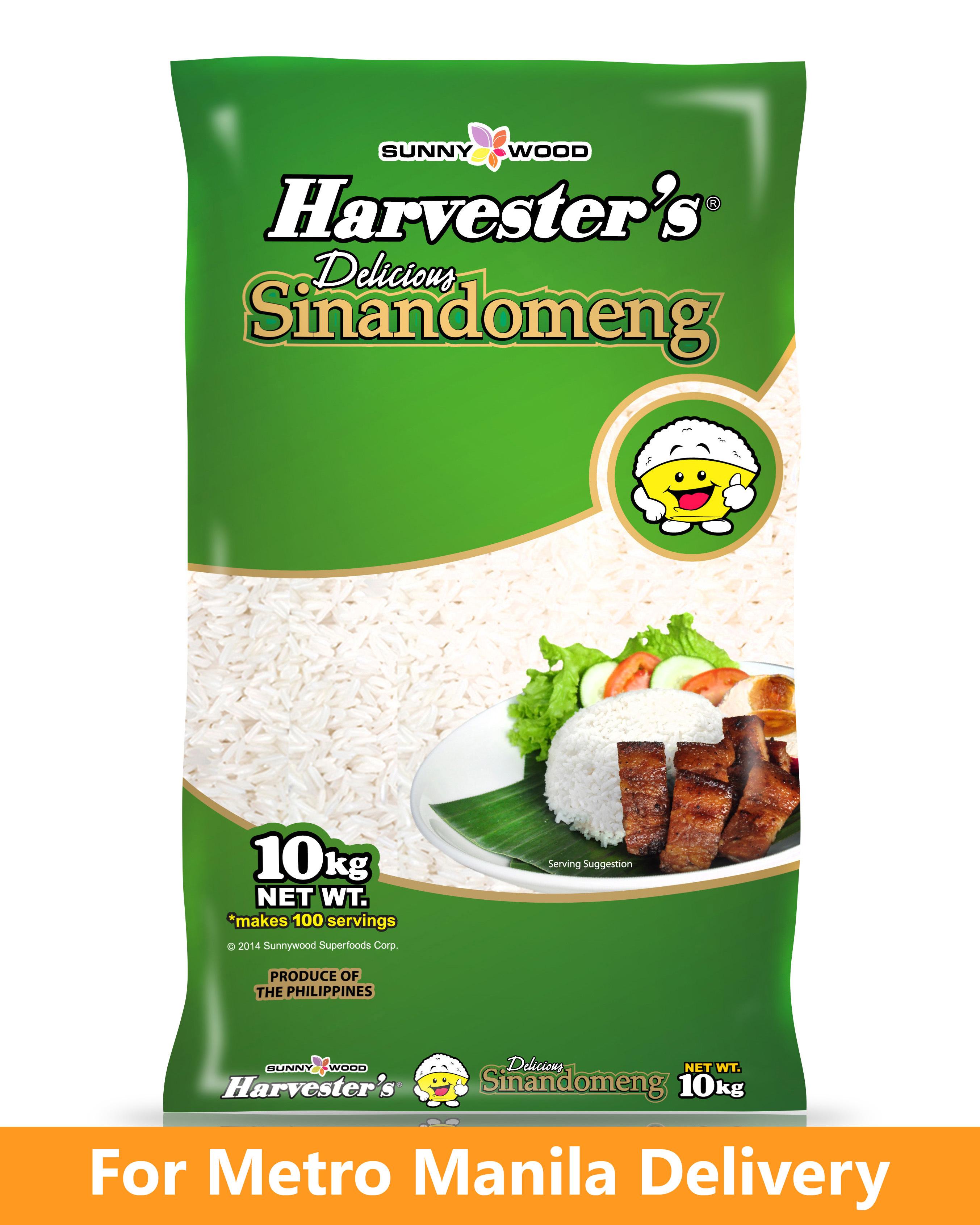 HARVESTER'S Sinandomeng - 10kg