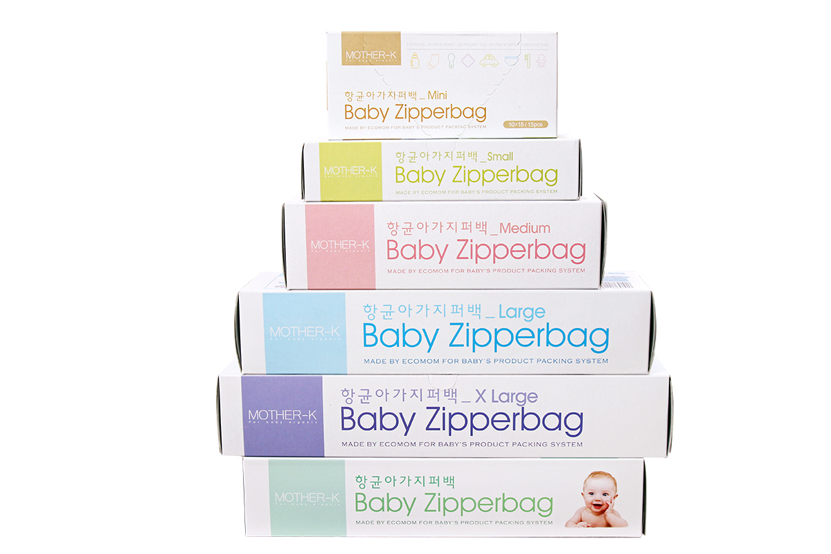 Mother-K Baby Storage Zipper Bags (Large)