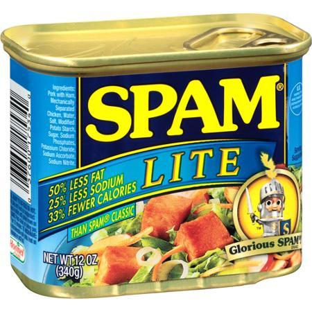 SPAM Luncheon Meat Lite  340g - 37600336161 (1261063)