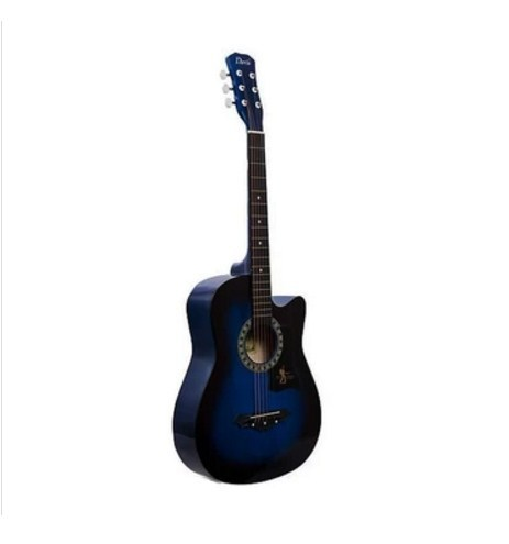 Davis JG-38 Acoustic Guitar (Blue)