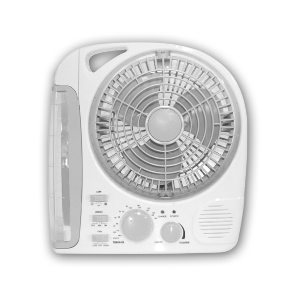 Rechargeable 3-in-1 portable fan (Akari  AEL-283)