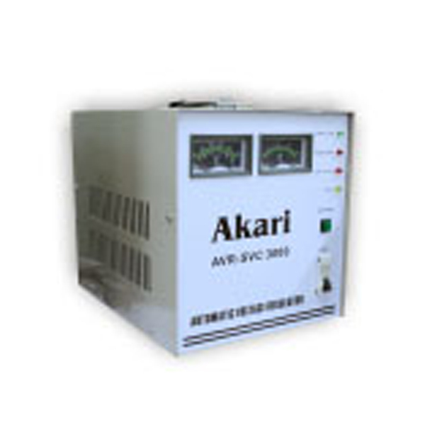 Automatic Voltage Regulator 500W With Quick Start (Akari  AVR-SVC-500W)