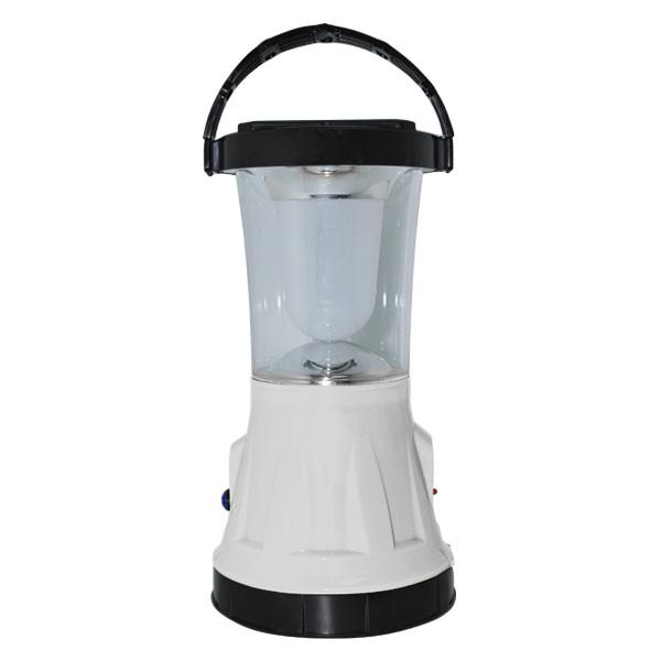 2-in-1 Solar Rechargeable Searchlight Plus Lantern (Akari ARL-799)