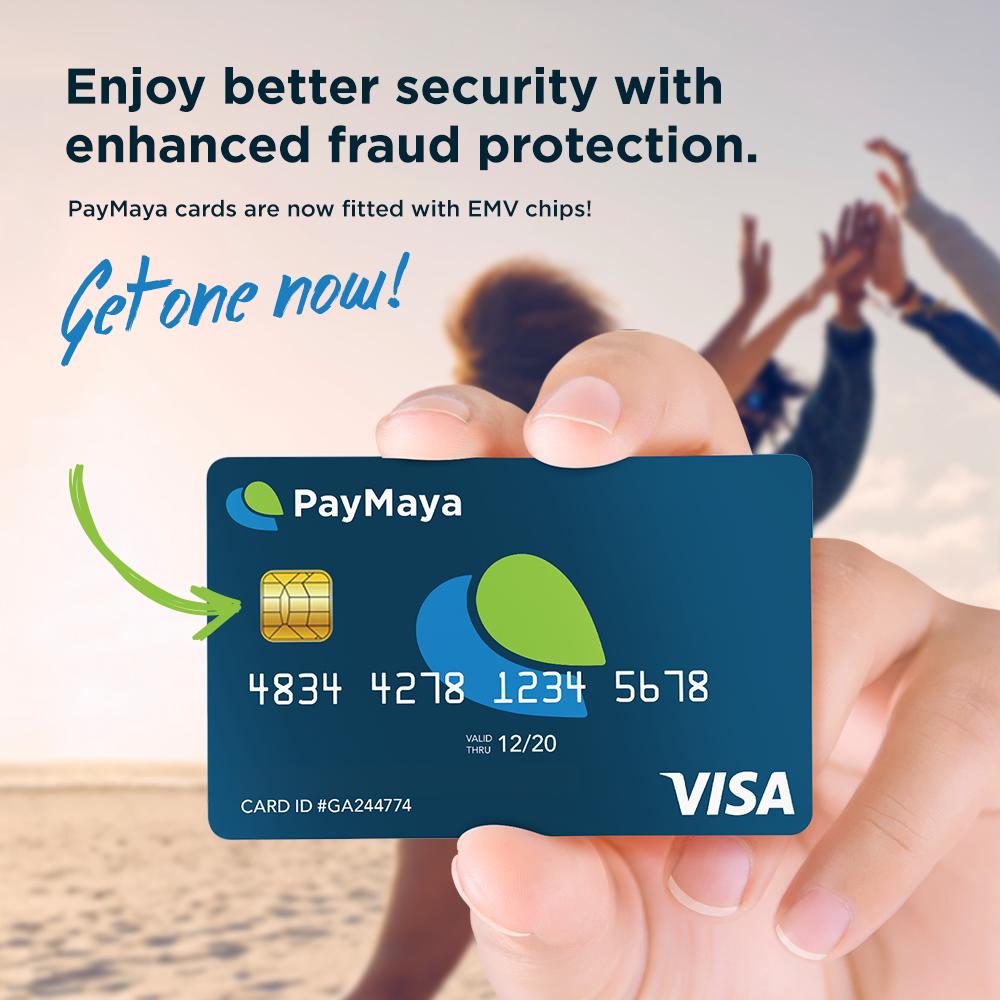 PayMaya EMV Card Bundle of 3