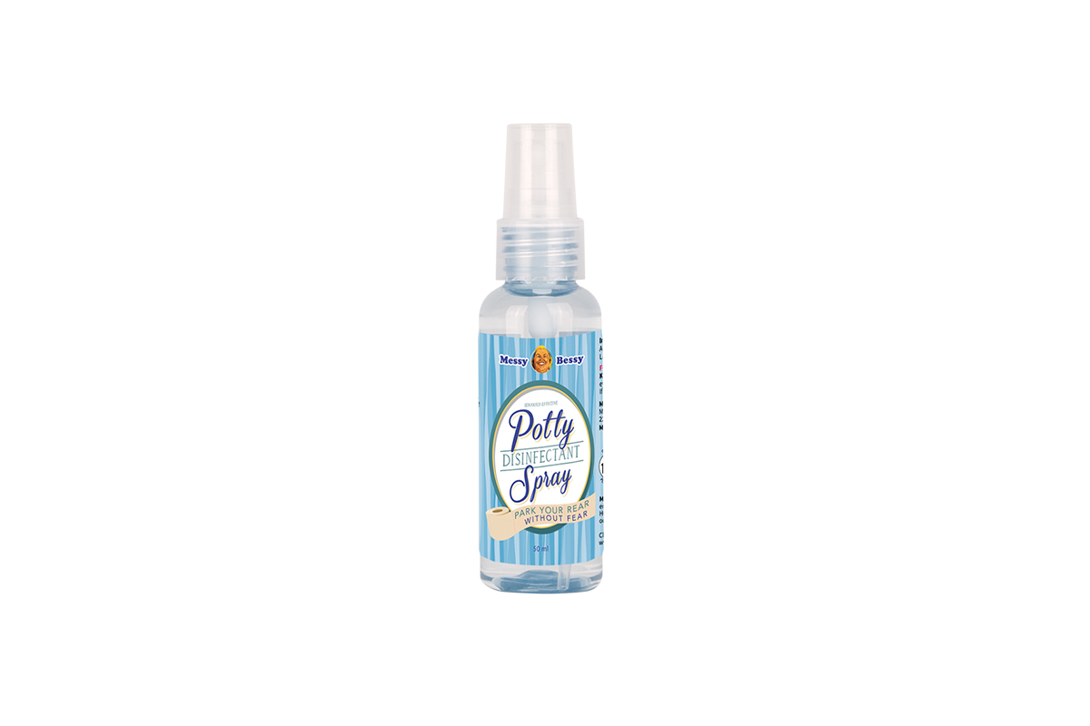 Messy Bessy Potty Disinfectant Spray 50 ml