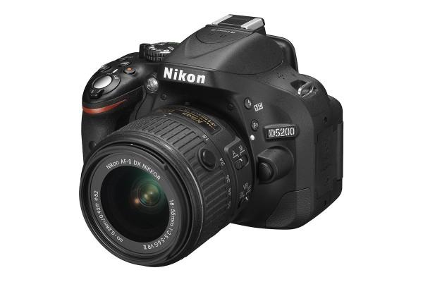 Nikon D5200 DSLR Camera with 18-55mm VRII Lens Kit Image