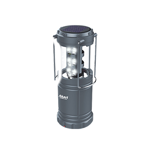 LED Solar Rechargeable Lantern ( ARL-5526G )