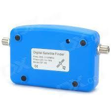 Mini Digital Satellite Finder with Compass-Sky Blue