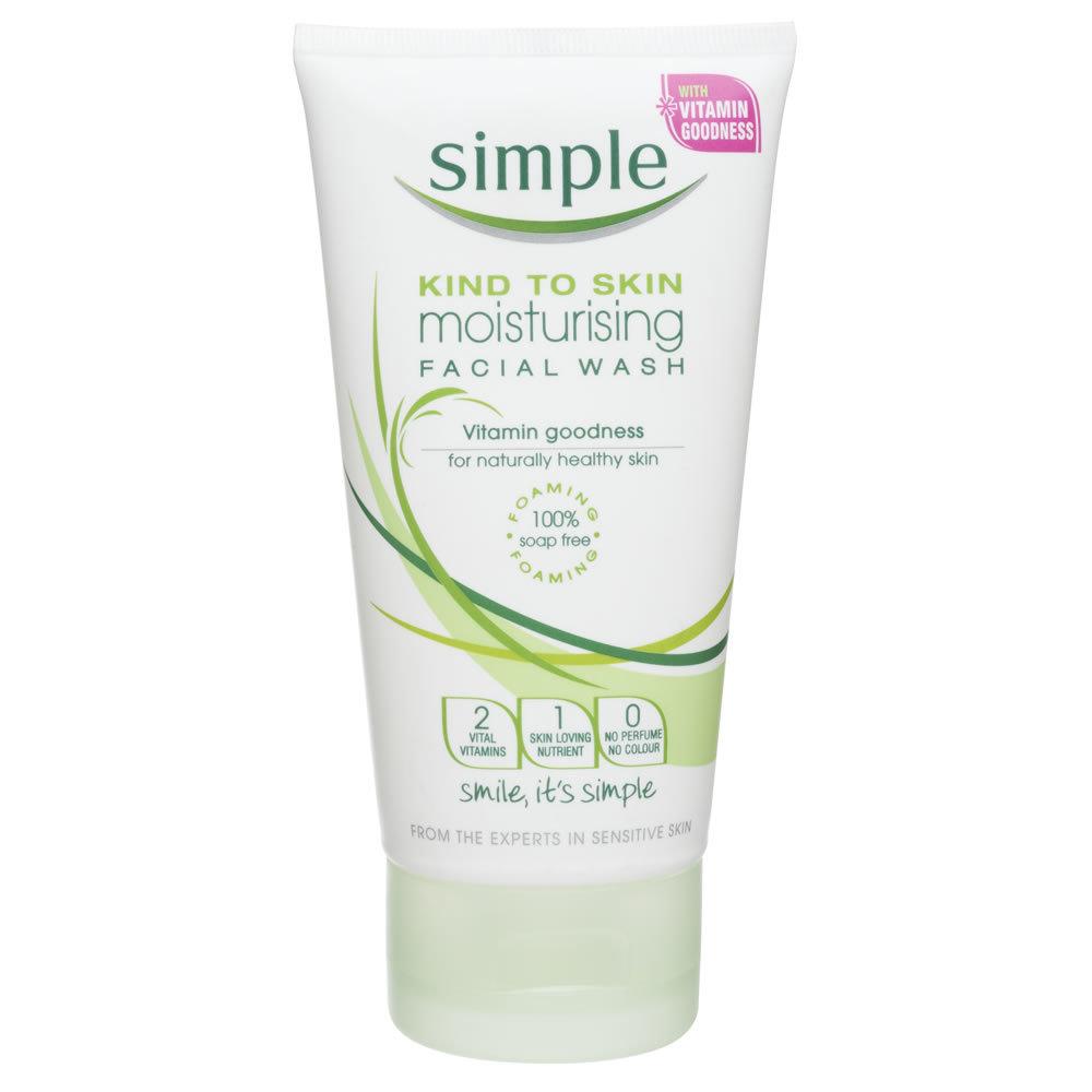 Simple Moisturizing Facial Wash 150ml - 87300700076 (2529167)