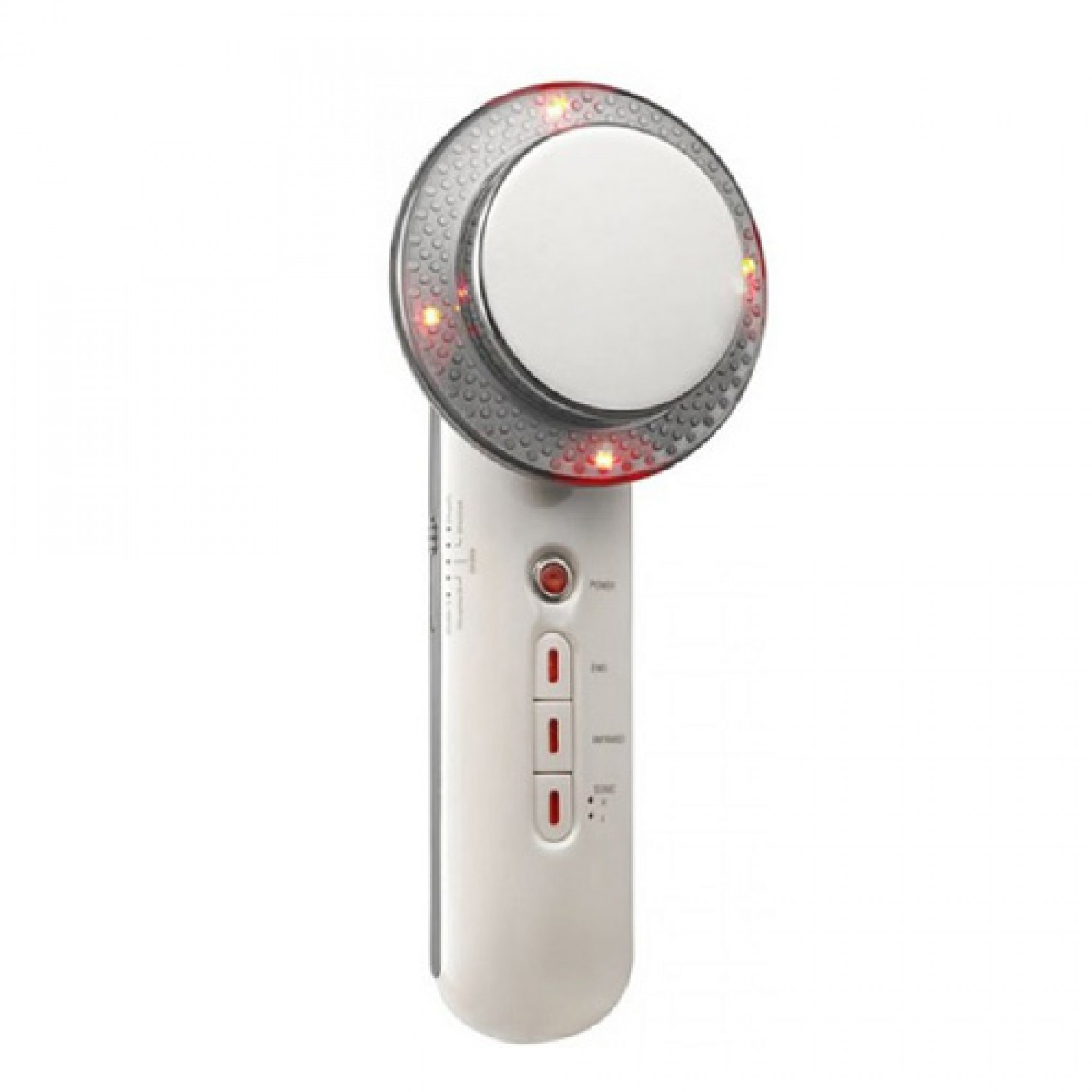 EMS Infrared and Ultrasonic Slimming Device - White