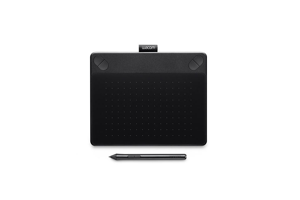 Wacom - Intuos Art Creative Medium Pen and Touch Tablet - Black - Front_Zoom