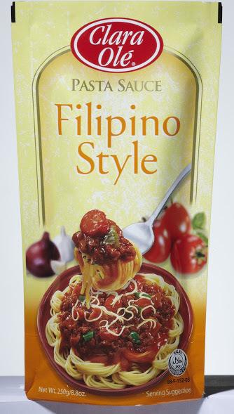 Clara Ole Filipino Style Pasta Sauce