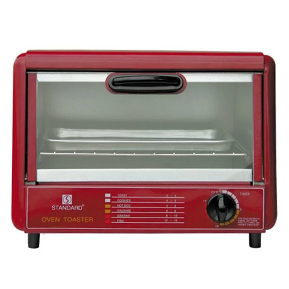 Standard SOT-602 Wide Oven Toaster (Red)