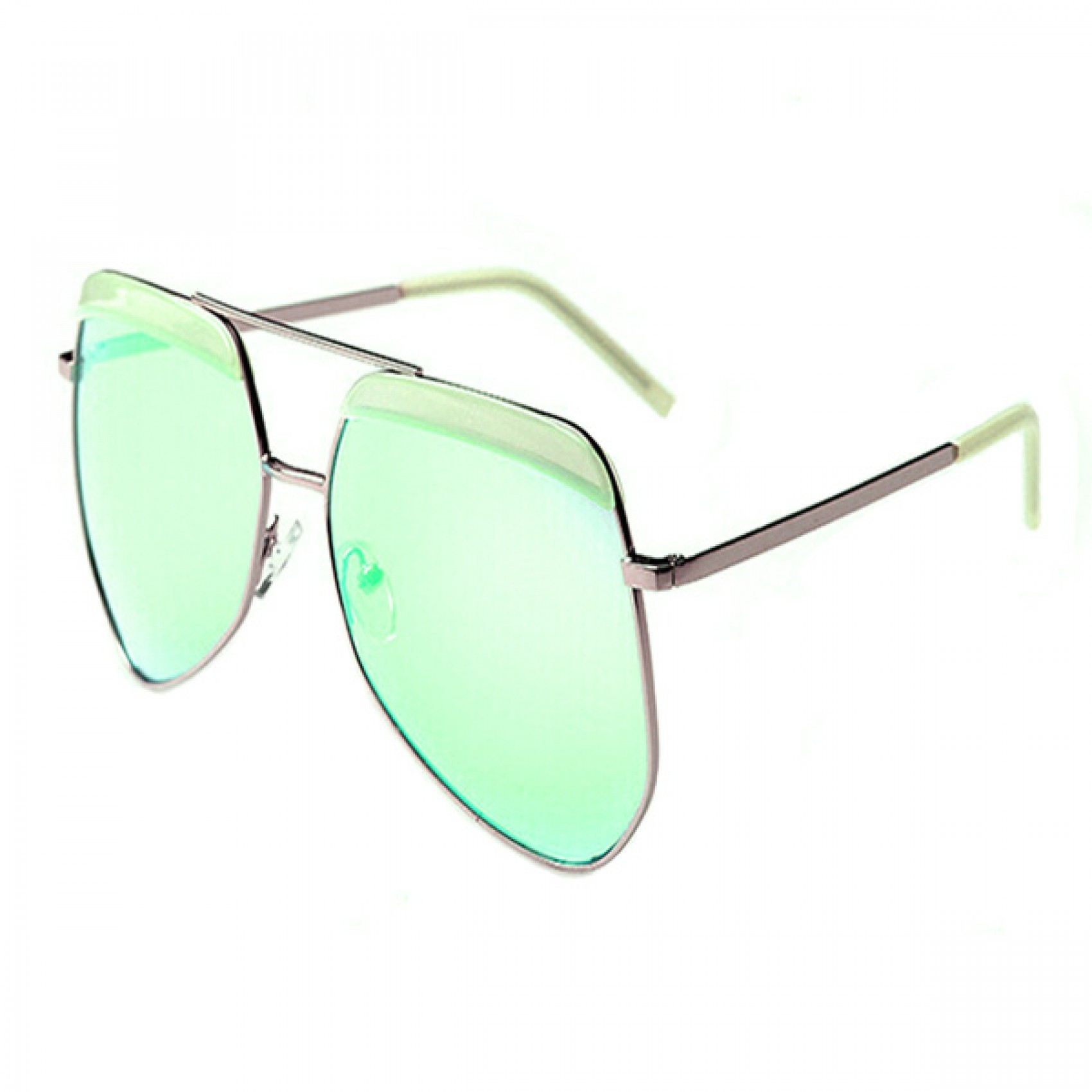 Generic Aviator Sunglasses - Green (LGGEN00001GRN-0003848)