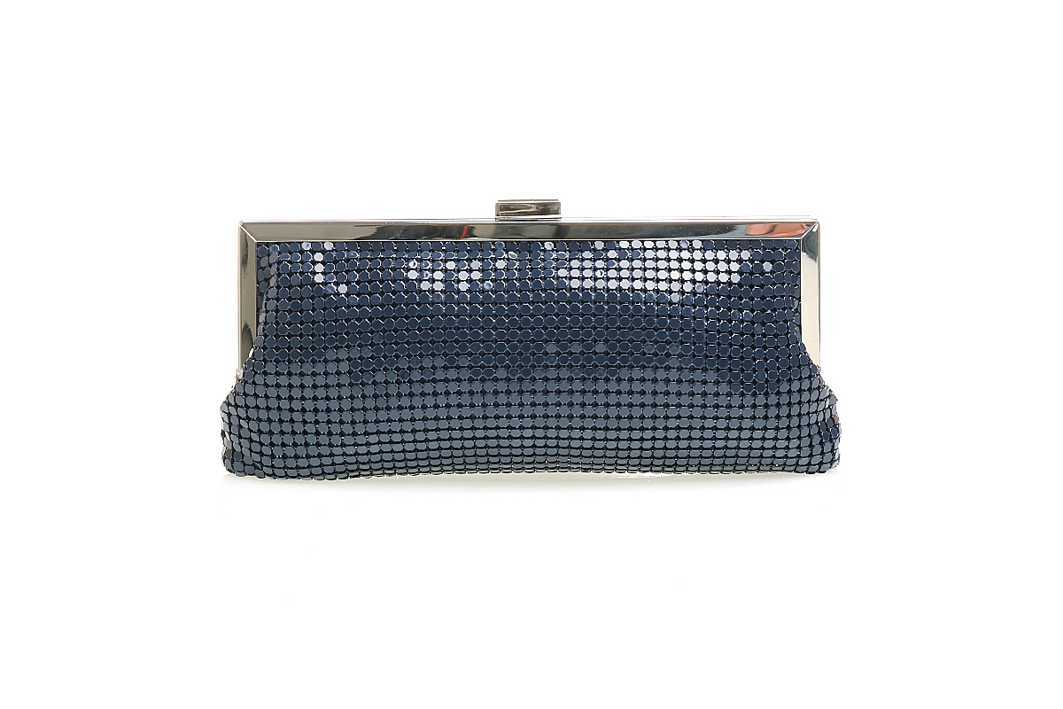 Style & Co Navy Darcy Small Frame Clutch