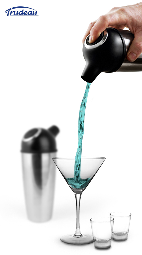 TRUDEAU EASY POUR COCKTAIL SHAKER (46168)