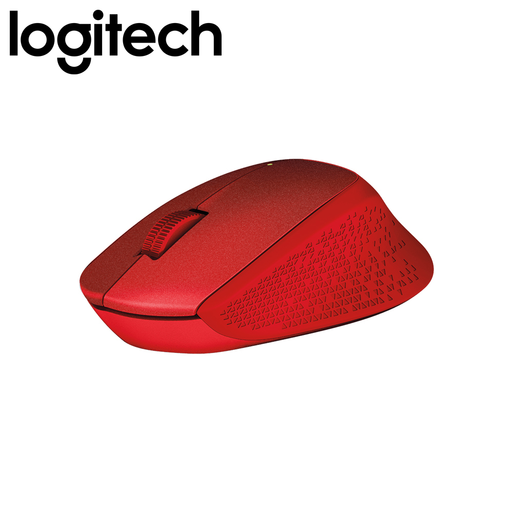 Logitech M331 Silent Plus Wireless Mouse (Red)