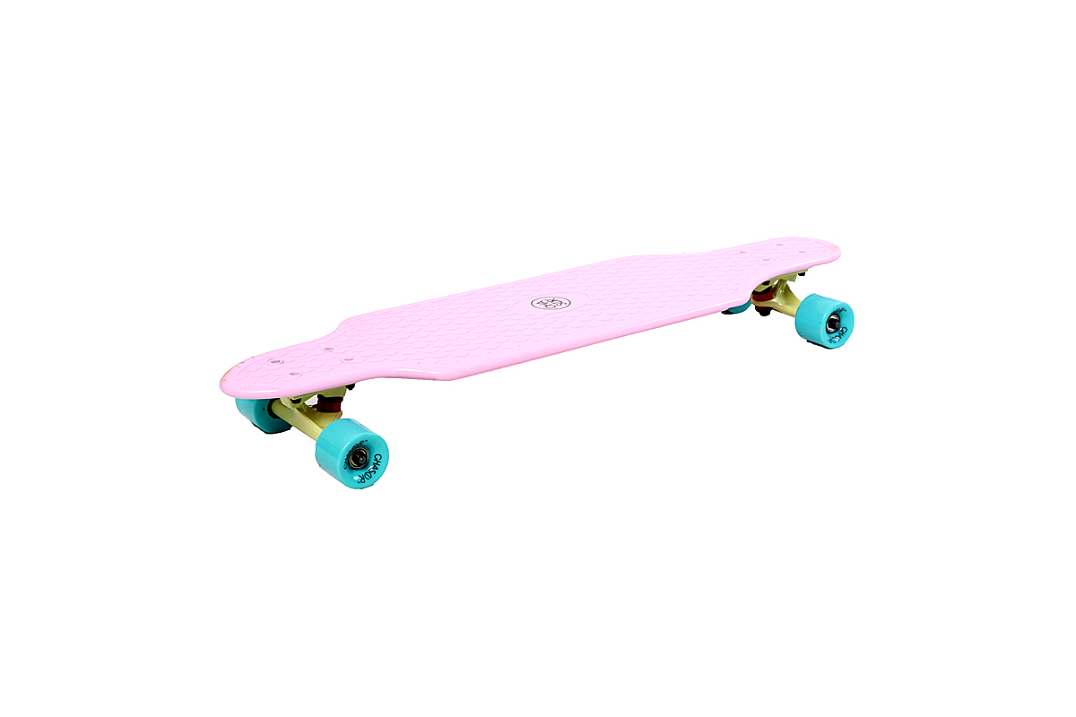 "Chaser 33"" Plastic Longboard (PINK)"