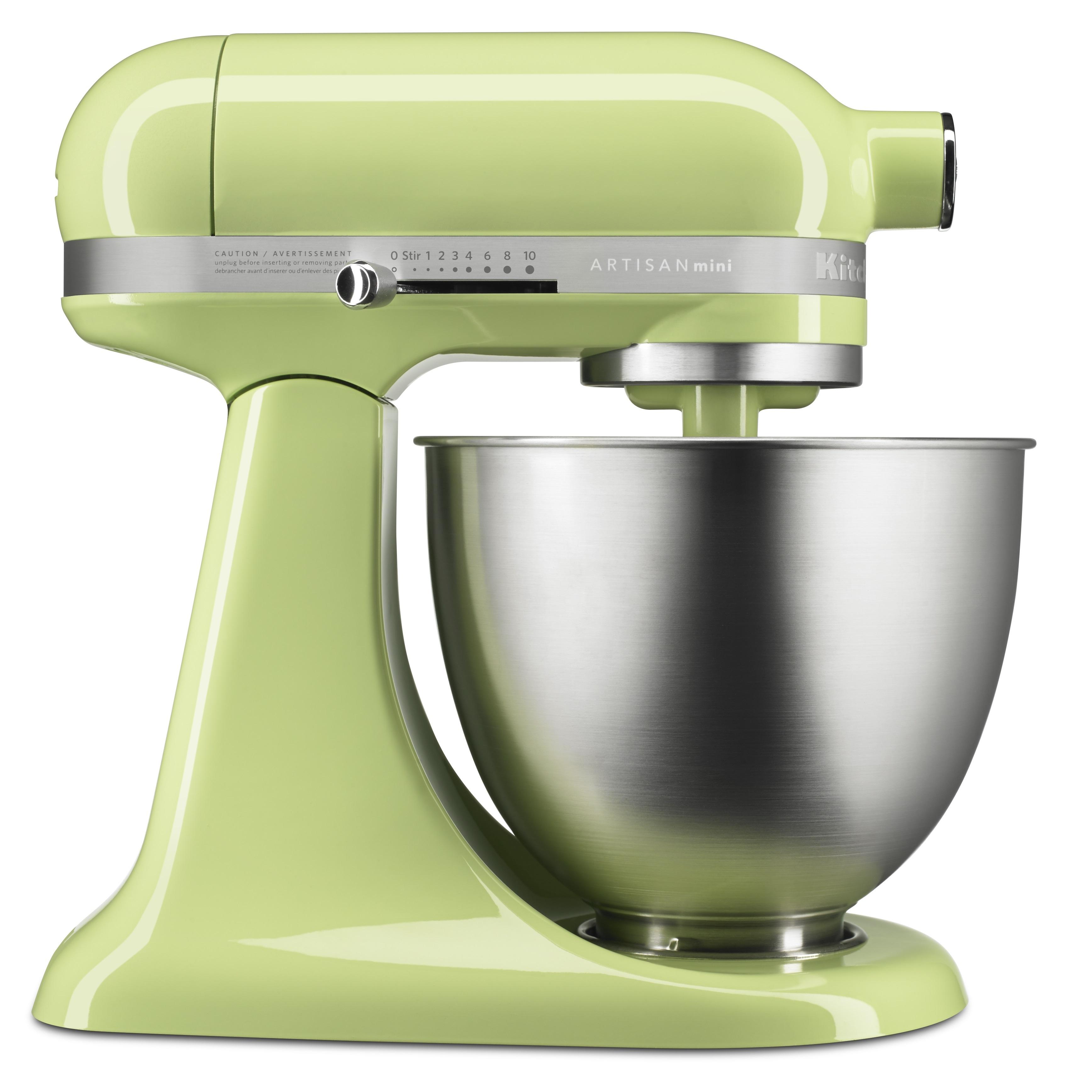 KitchenAid Stand Mixer Artisan Mini 3.5Qt Tilt Head (Honey Dew) - 5KSM3311XEHW