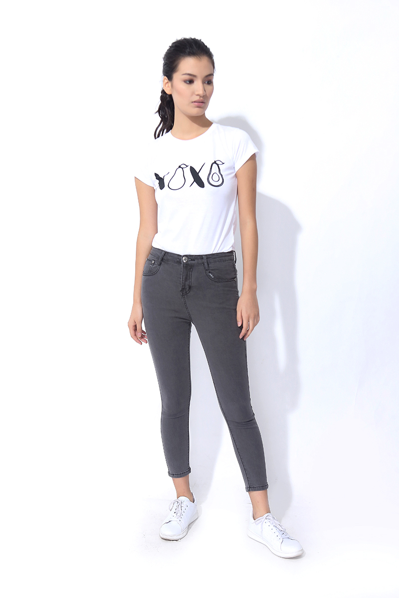 FOLDED AND HUNG DENIM SKINNY JEANS (L7SCBJ18A)