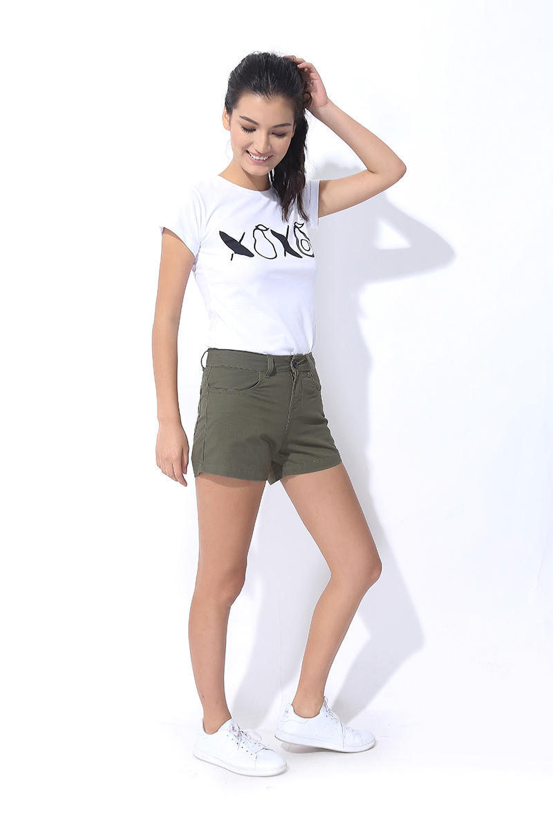 FOLDED AND HUNG CHINO SHORTS (L7BEBS03G)