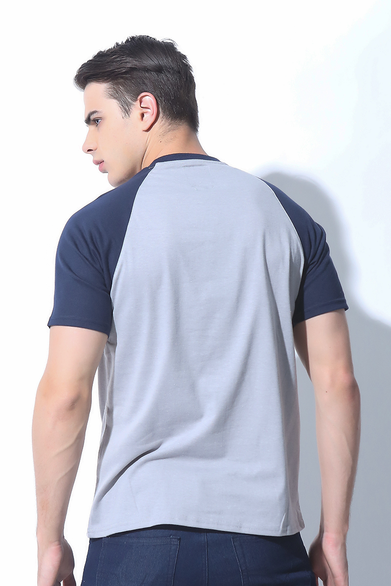 FOLDED AND HUNG MENS TOPS DAWN BLUE (M7BPTT07L)