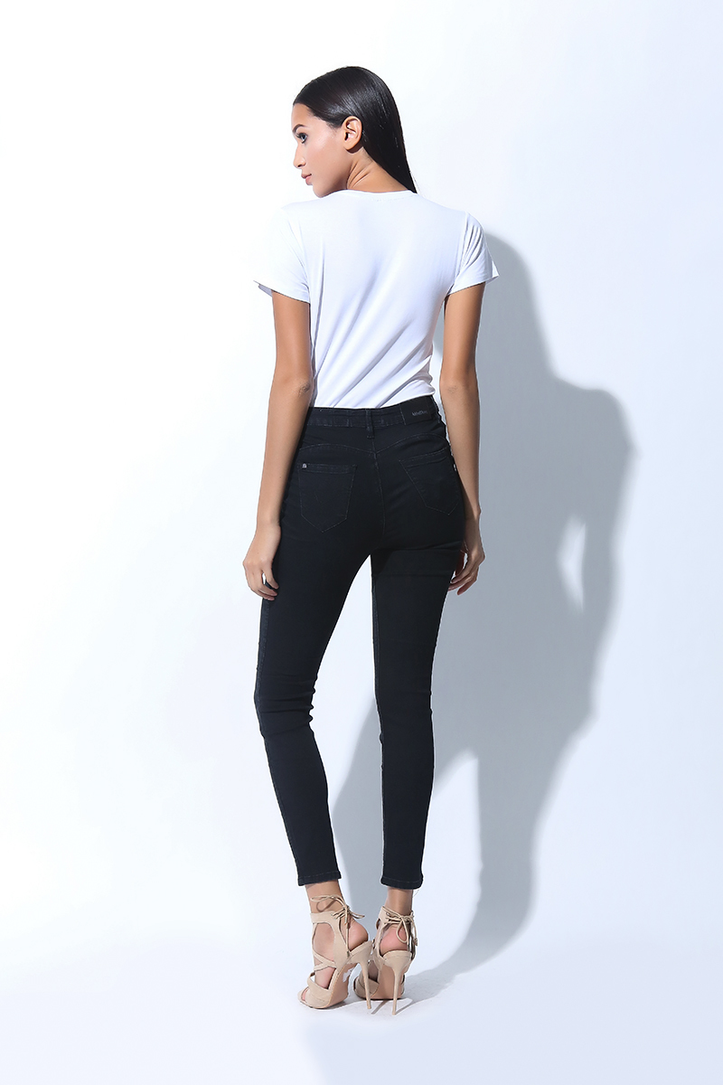 FOLDED AND HUNG HIGHWAIST SKINNY JEANS (L7BCBJ02B)