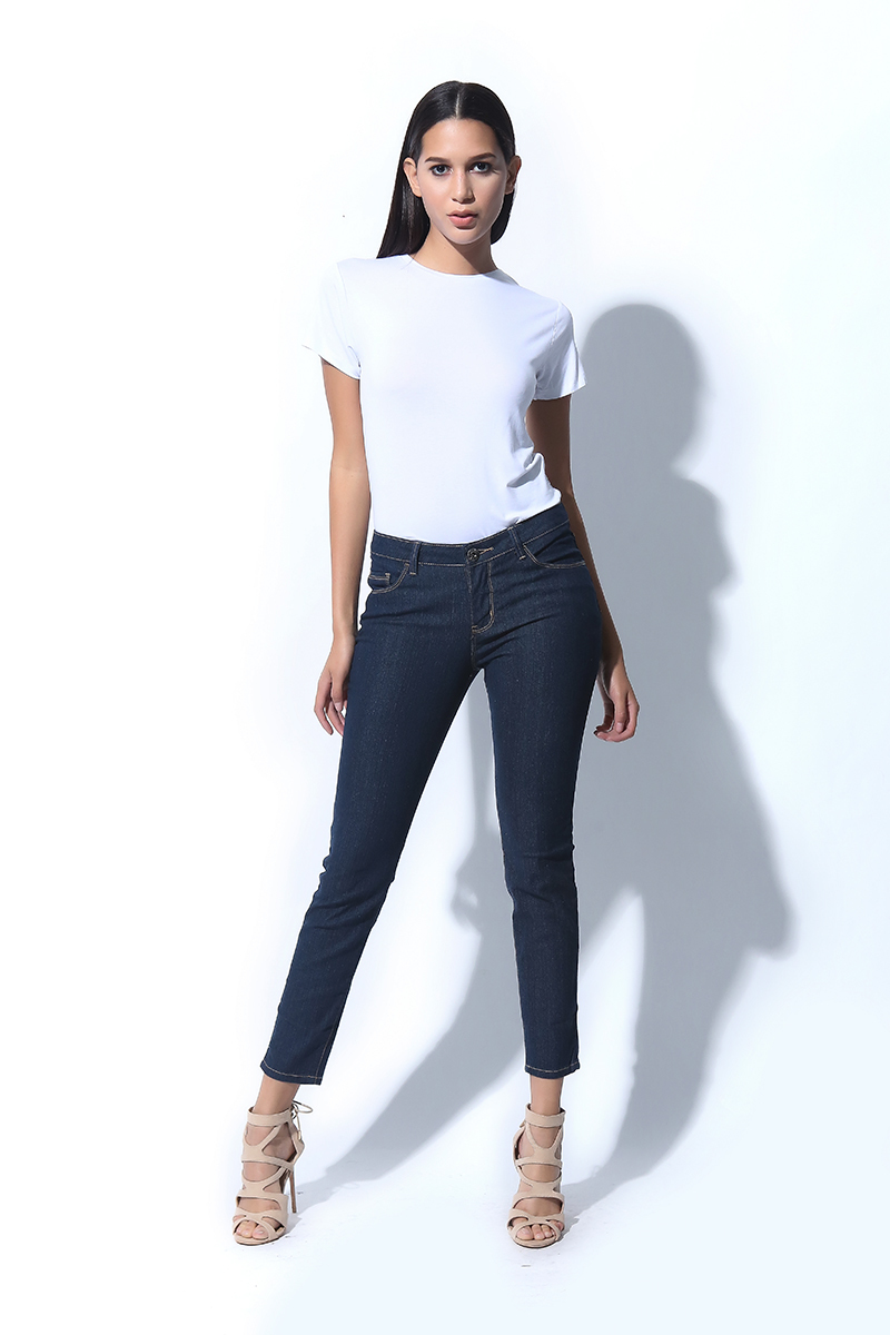 BASIC FIVE POCKET JEANS (L7BEBJ04L)