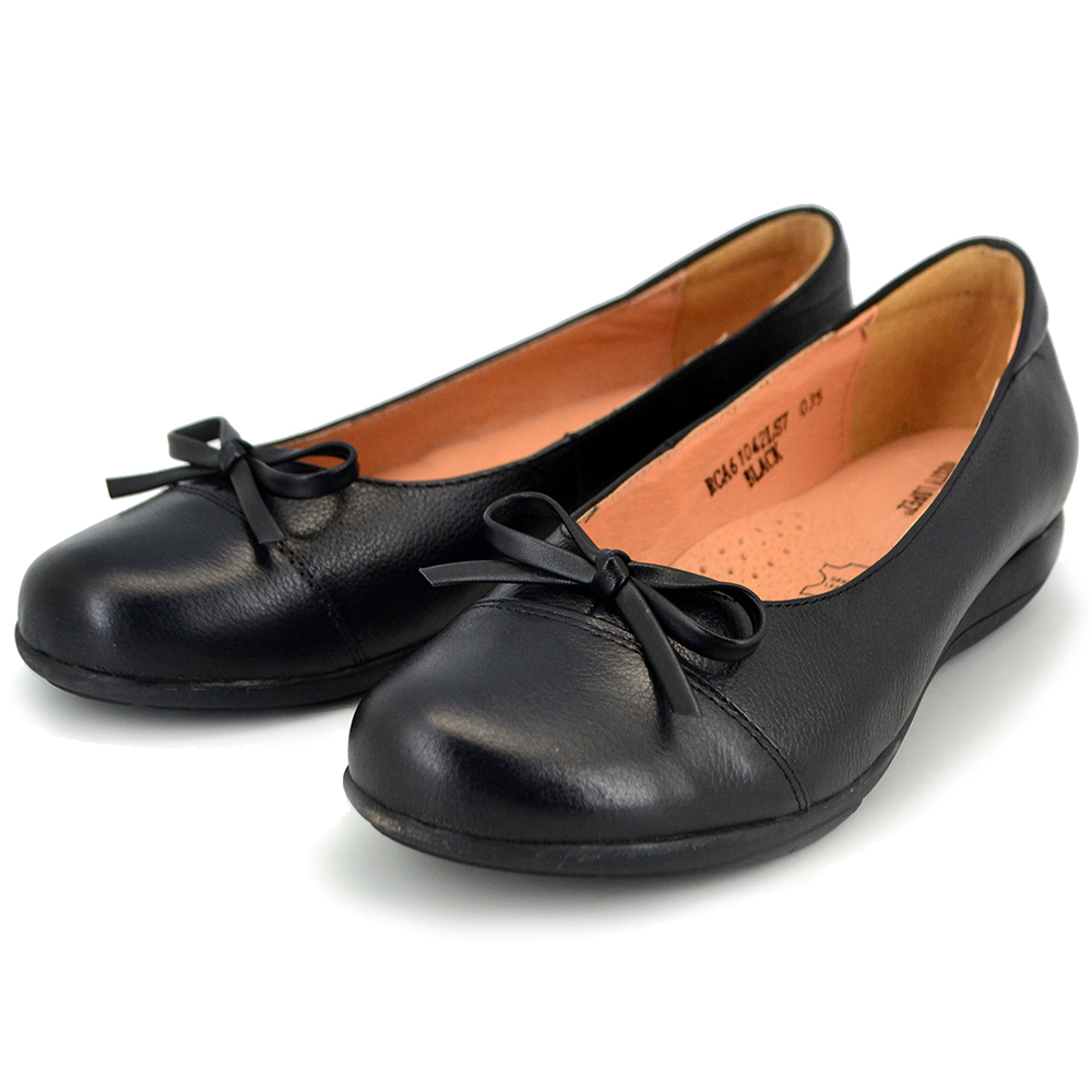 4af6164a490 Rusty Lopez Black Shoes with Ribbon - RCA61042MLXS7