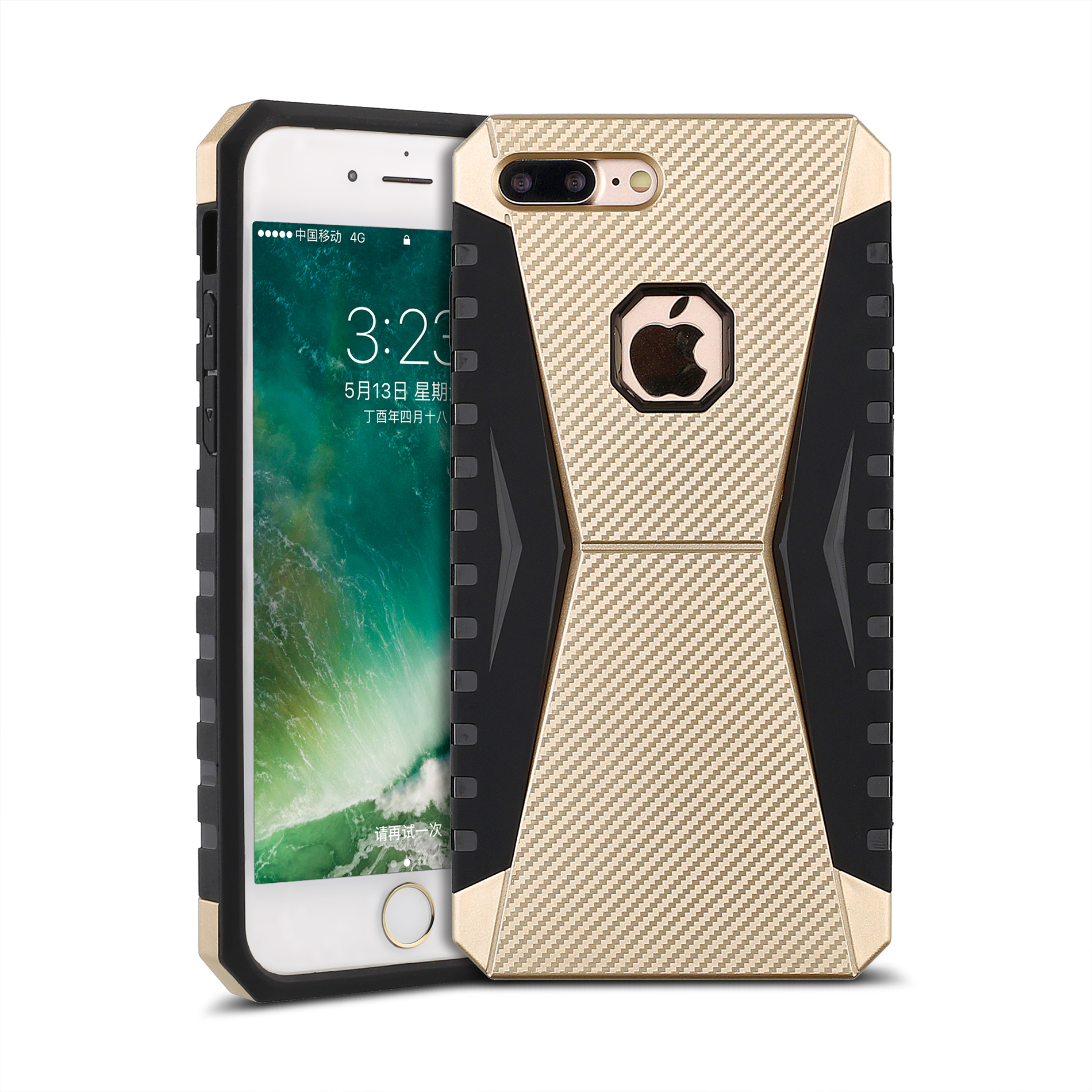 RockX Hybrid Armor Case for iPhone