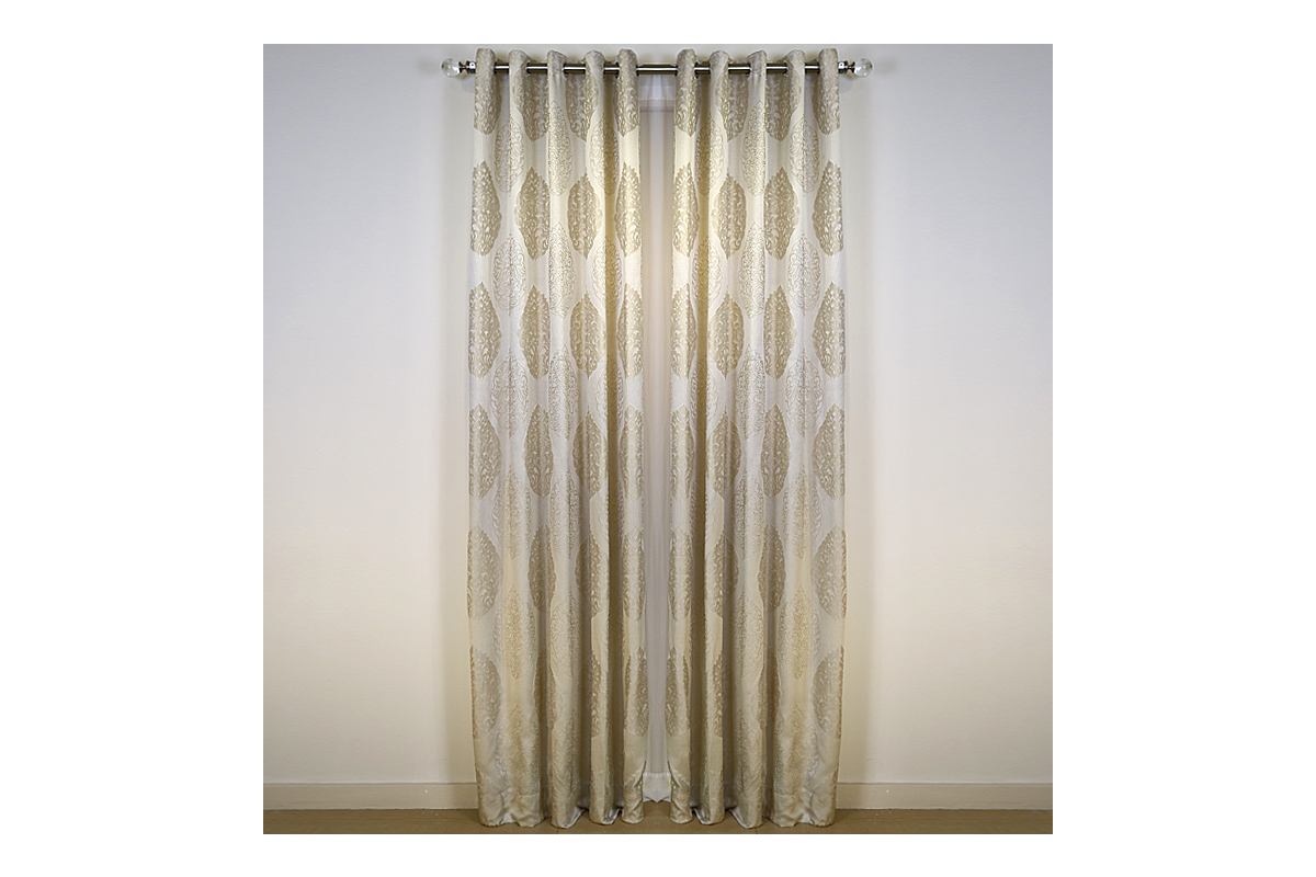 "ARQ LIVING KALSA COLLECTION CURTAIN PANEL (54X96"")"