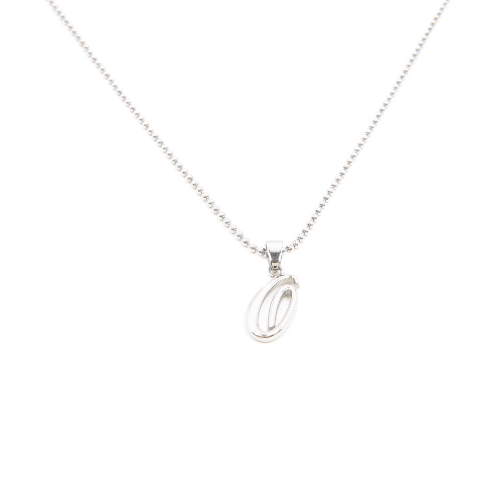 Silverworks X1773 Letter O Necklace