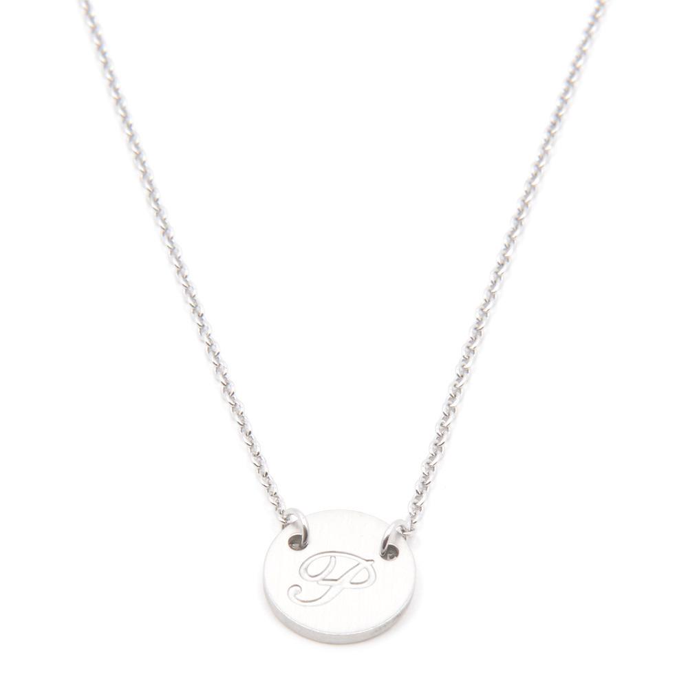 Silverworks X1800 Letter P Necklace