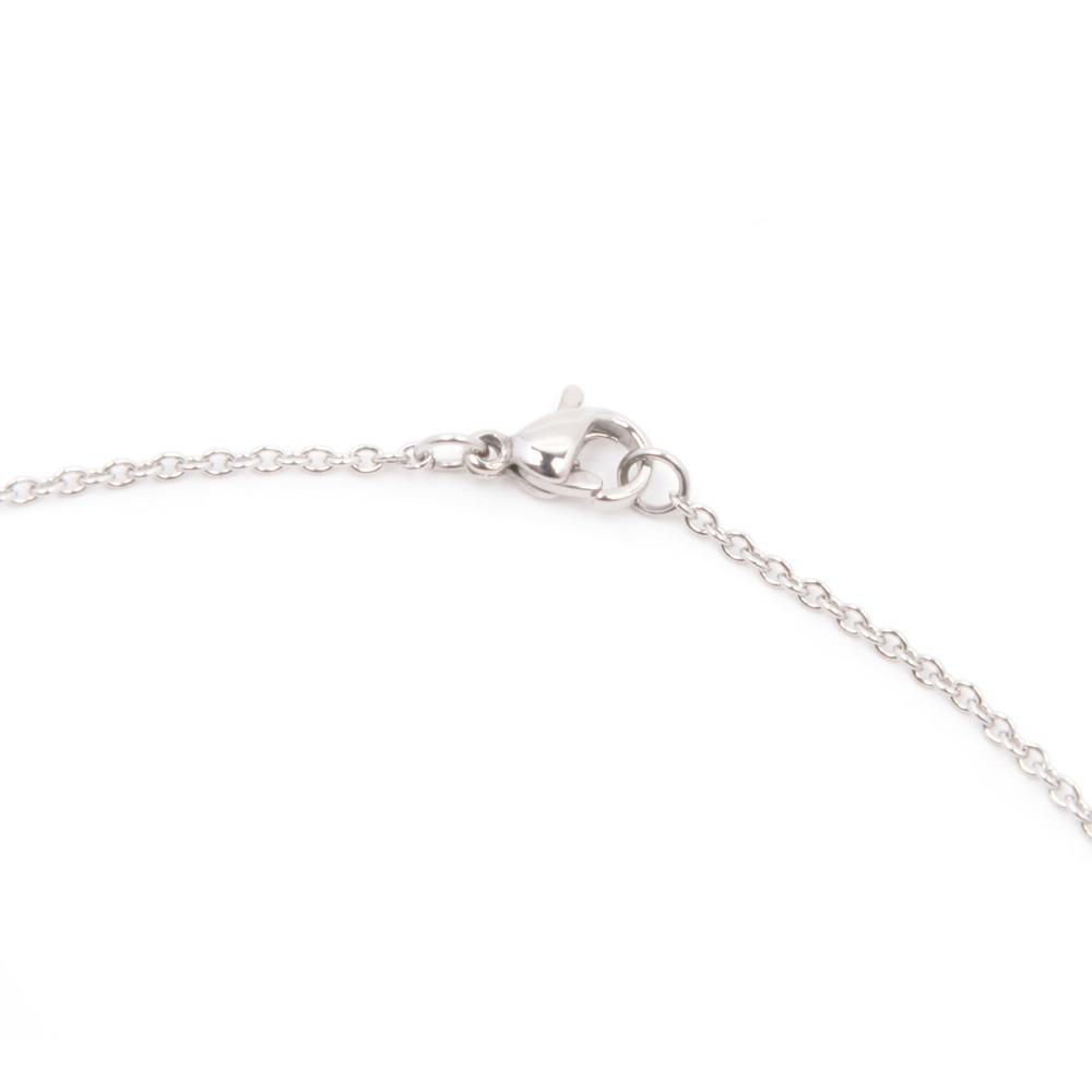 Silverworks X1786  Letter B Necklace