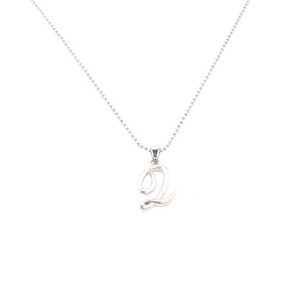 Silverworks X1775 Letter Q Necklace
