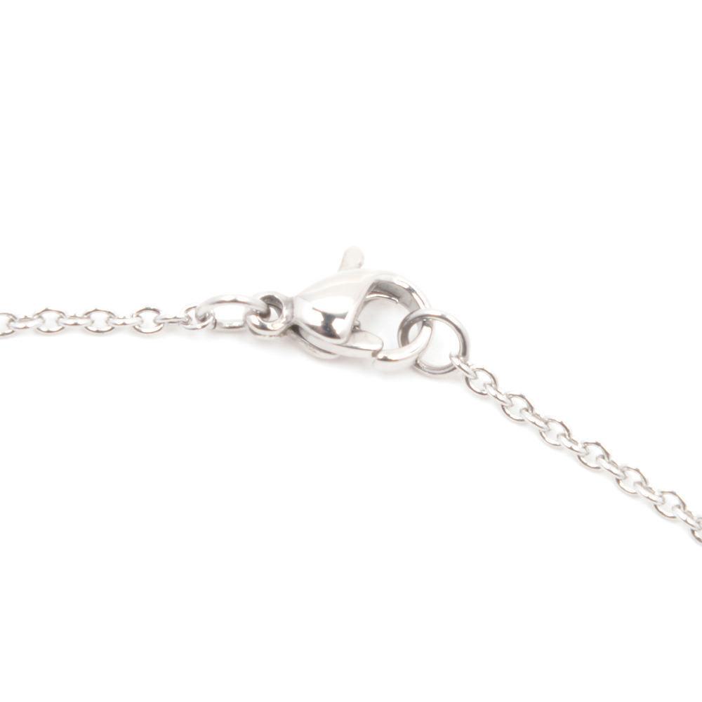 Silverworks X1792 Letter H Necklace