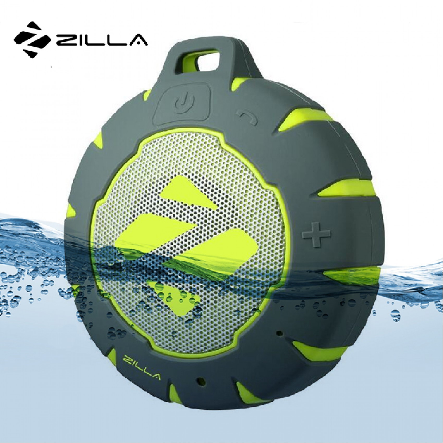 Zilla Outdoor Floating Bluetooth Speaker - Green