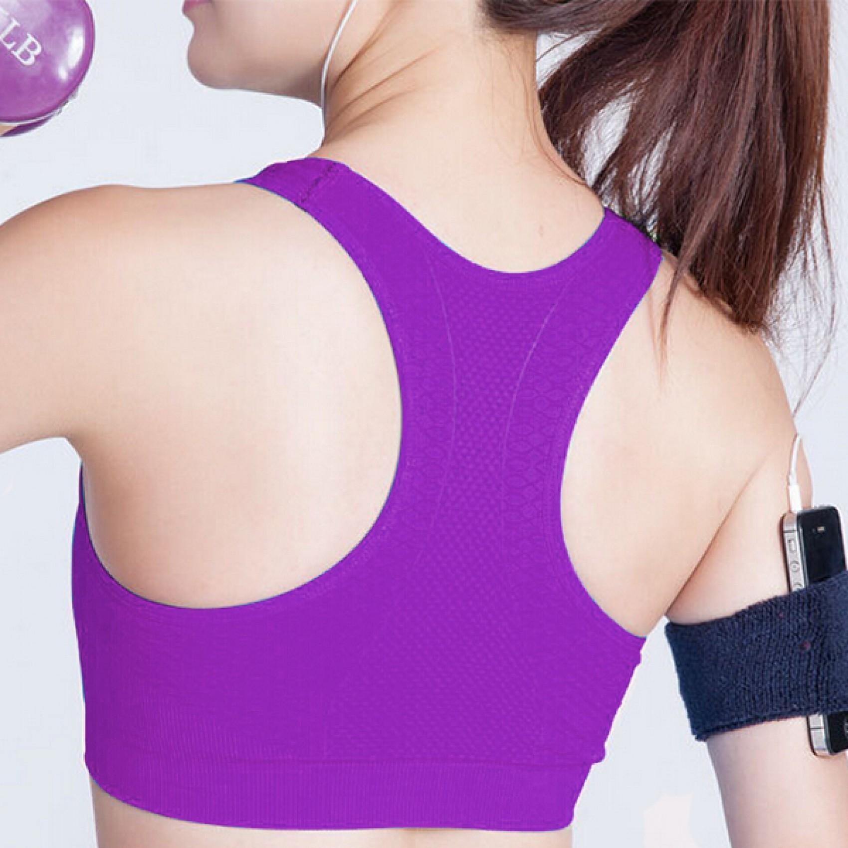Female Sport Bra Medium - Violet